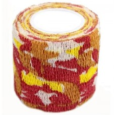 The Inked Army-grip bandage 5cm, red/yellow/white