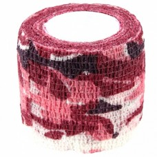 The Inked Army-grip bandage 5cm, red/white